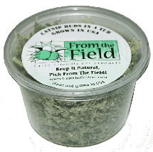 From The Field Catnip Buds in a tub 0.5 oz
