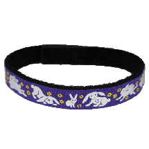 Beastie Band Cat Collar - Bunnies - Choose a Color