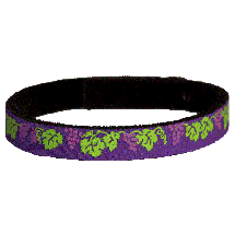 Beastie Band Cat Collar - Grapes - Choose a Color