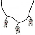 Dalmatian Dog Necklace