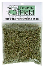 From The Field Fresh Catnip Leaf and Flower 0.5 Ounce Bag