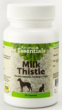 Animal Essentials Milk Thistle Capsules 30 count