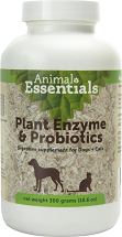 Animal Essentials Plant Enzymes and Probiotics 300 gram SHORT DATED By 04/21