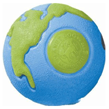 Planet Dog Orbee Ball Blue/Green - Pick a Size