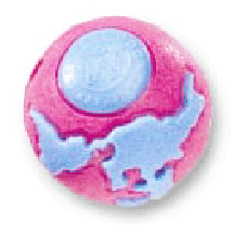 Planet Dog Orbee Ball Pink/Blue - Pick a Size
