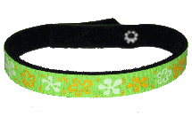 Beastie Band Cat Collar - Flower Power - Choose a Color