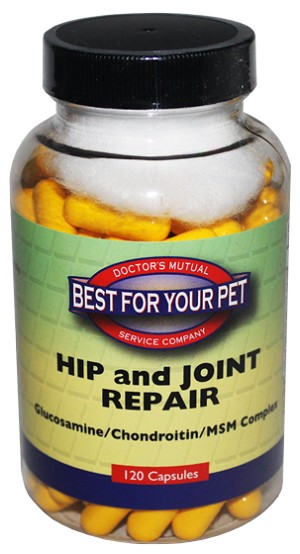 Best For Your Pet Hip and Joint Repair - 120 capsule