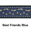 "Good Dog Hemp/Canvas Dog Collar 3/4"" - Medium - Choose a Design"