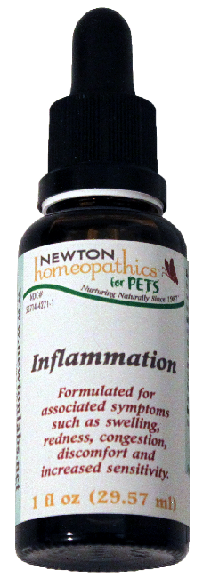Newton Homeopathics Inflammation For Pets - 1 fl oz