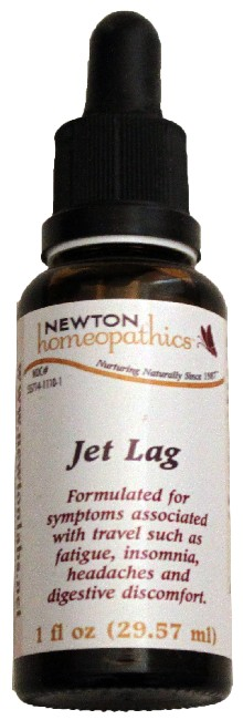 Newton Homeopathics Jet Lag for People - 1 fl oz