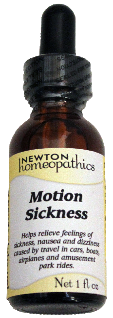 Newton Homeopathics Motion Sickness for People - 1 fl oz