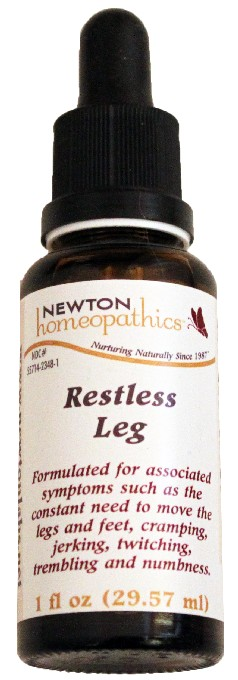 Newton Homeopathics Restless Leg for People - 1 fl oz