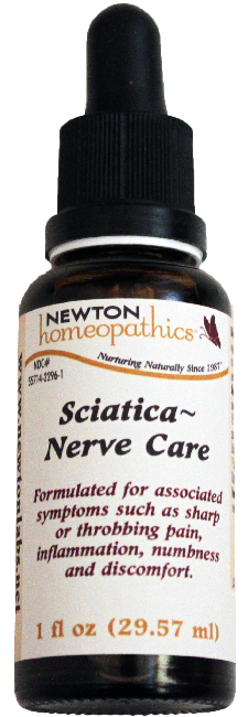 Newton Homeopathics Sciatica-Nerve Care for People - 1 fl oz