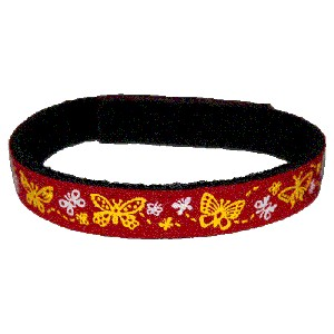 Beastie Band Cat Collar - Butterflies - Choose a Color