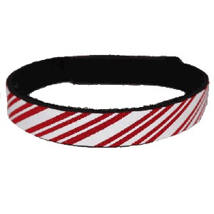Beastie Band Cat Collar - Candycane Stripes