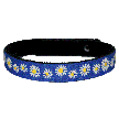 Beastie Band Cat Collar - Dazzling Daisies - Choose a Color