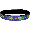 Beastie Band Cat Collar - Jumping Frogs - Choose a Color