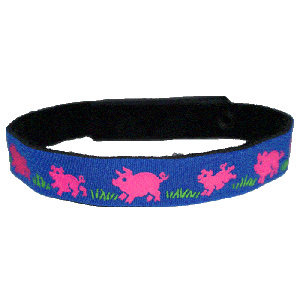 Beastie Band Cat Collar - Pigs and Piglets - Choose a Color
