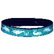 Beastie Band Cat Collar - Playful Dolphins - Choose a Color