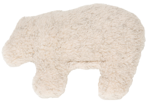 West Paw Design Gallatin Grizzly Dog Toy - Oatmeal