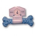 Harry Barker Cotton Rope Bone Toy - small blue