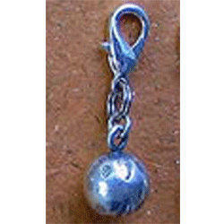 Thai Silver Bell Charm - Holly Bell